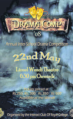 For The Past Twenty Years Interact Club Of Royal College Colombo Has Organised Popular Inter School Drama Competition In