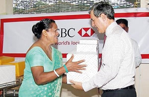HSBC Group selects Shantha Sevana Hospice for regional donation