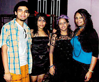Best Dressed Male was RadeshRaddella for his Jack Sparrow costume and the Best Dressed Female was Mahesha Jayawardana for her pink-eared rabbit costume.  sc 1 st  Sunday Times Sri Lanka & A night filled with music food and high energy