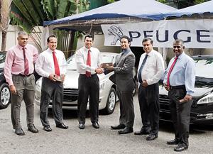 New Peugeot 508 executive saloon attracts Sri Lankan corporates