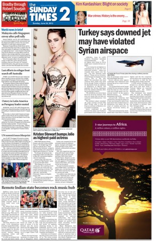 Cover – Sunday Times 2- 2012-06-24