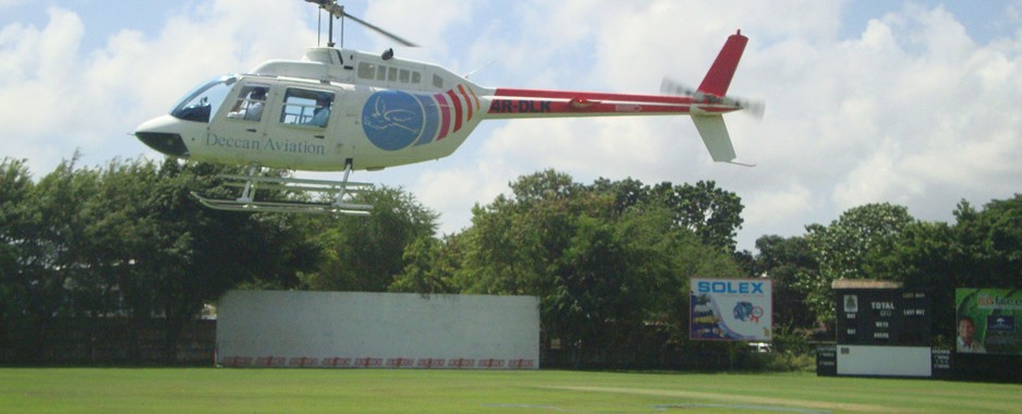 Clearance for private helicopters to land in Colombo