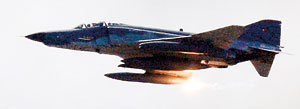 A Turkish Air Force F-4 war plane fires during a military exercise (REUTERS)
