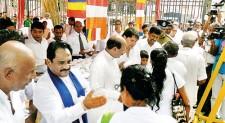 Poson pinkama in Kandy