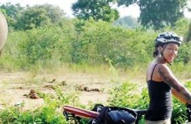 Biking among strangers