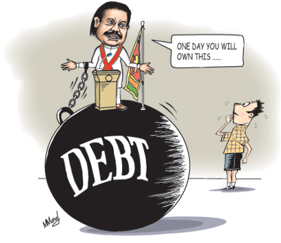 Fears over increasing foreign debt