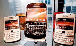 Poor show: BlackBerry revealed worse than expected quarter results