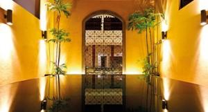 Moorish touch: Colombo Courtyard's languorous poolside ambience