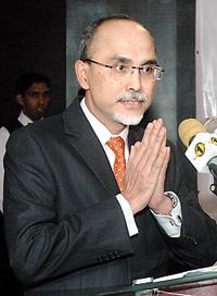 President of MSU, Prof. Mohamed Shukri