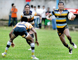 Vidyartha was the dark horse of this year's schools league tournament. But they face an off-the-field battle which eventually could change the entire composure of the league tournament. - Pic by Ranjith Perera