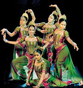 Dancers from the Rivega Dance Studio