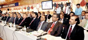 A section of the envoys who attended the workshop