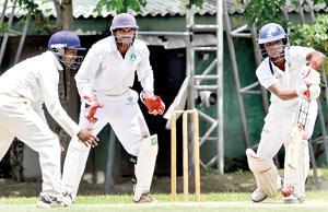 Charitha Kumarasinghe of Bloomfield bats against BRC