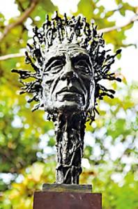 A sculpture by Gayan