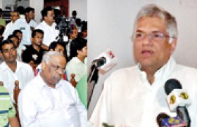 President moves to rebuild Govt's image; cracks within UNP widens
