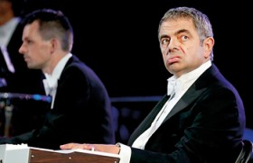 A salute to NHS and bumbling Mr. Bean brings down the house