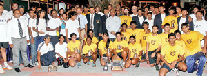 The Colombo Rowing Club men's and women's teams in Chennai.