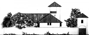 Architectural drawing of Dr. Chris and Carmel Raffel's home.