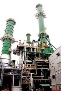 The thermal power plant at Kerawalapitiya