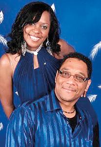 Larry with Taniya Smith