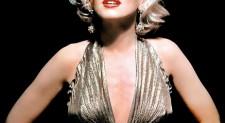 Marilyn Monroe's blonde bombshell smolders on