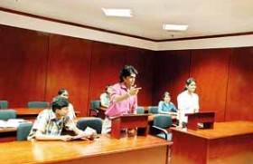 Interactive Law session at the APIIT Law School