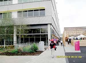 The press centre