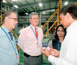 British dignitaries visit Unilever's new US$50 mln Horana factory