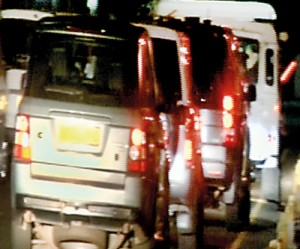 Unusual VIP vehicle movements witnessed early Friday morning