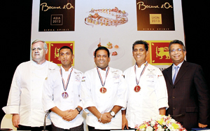 Chef Buddhika marches to the Lyon finals