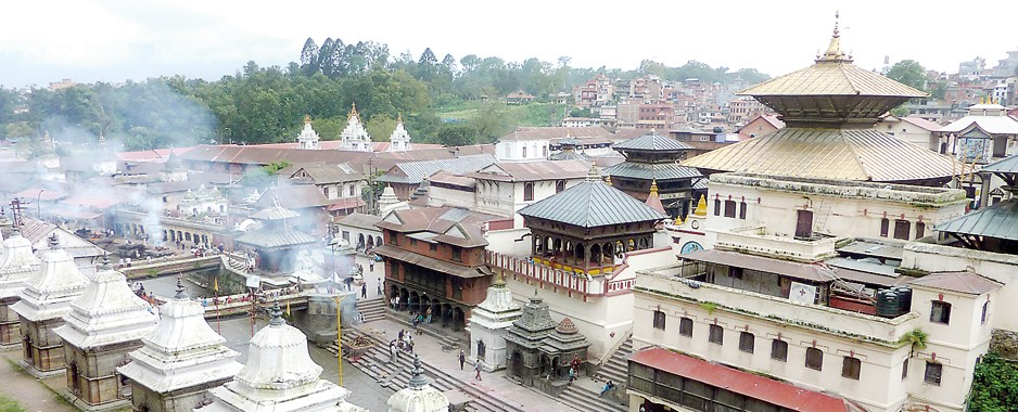 A walk  through the temples of Kathmandu