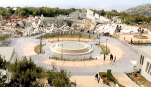 Tourist attraction: Lebanese militant group Hezbollah has built a multi-million pound theme park designed to indoctrinate its children about the glory of martyrdom against its enemy Israel