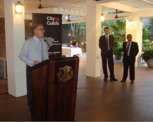British High Commissioner in Sri Lanka  HE John Rankin