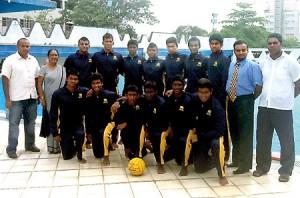The boys team: Devshan de Mel (Captain), Kanitha Munasinghe (Vice Captain), Bhanuka Wijesundara, Thavishka Guruge, D.C.D. Francis, Visal Poornaka, Chandula Fernando, Rifat Uwais, D. Weerarathne, Sandeepa Deheragoda, Kanishka Heenkenda, Waleed Uwais, Akila Weerasinghe