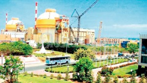 The Kudankulam nuclear plant: A nuclear safety bill yet to be signed into law.