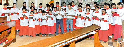 With a song in their hearts Thomian choir looks beyond our shores