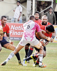 The Upcountry Lions have written an impressive start to their franchise history, as they challenged several top clubs, including the league champions Havelock's. Pic by Ranjith Perera.