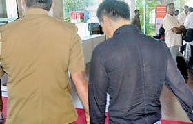 Purged diamond in police hands