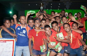 Trinity tame Royal to clinch U-16 Rugby title