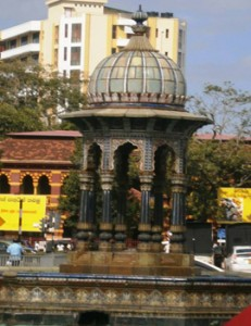 Hindu-Saracenic architecture at the Eye Hospital junction.