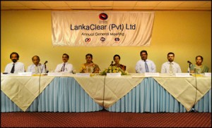LankaClear AGM Picture of Board-30Aug12 (2)