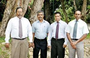 RM  T. Ganeshan and his team of Excecutives