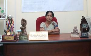 The Principal, Mrs. Ramani de Silva