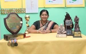 The Vice Principal, Mrs. J.A.S. De Silva