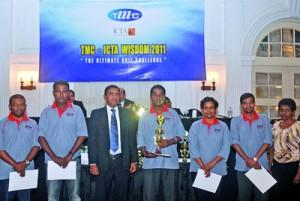 Seylan Bank  Winners of the Banking Sector award at TMC Wisdom 2011