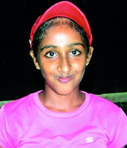 Umeshi Ranaweera U/12 Girls Singles