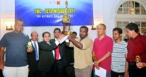 Winners last year - Vindana Ariyawansa's team