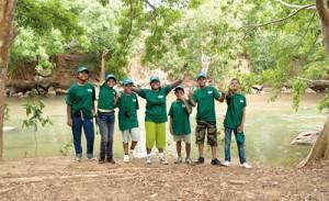 Participants from Left to Right: Janani Sachethana,  Wasana Siriwardena, Savindu Herat, Devindi Gunarathne, Chaveendra Dunuwille, Naheed Roomy and Adhil Nawushad.