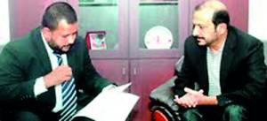 Minister Rishad Bathiudeen and Firoz G. Merchant