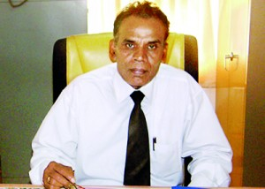 The present principal Mr.MunidasaRathnasekara